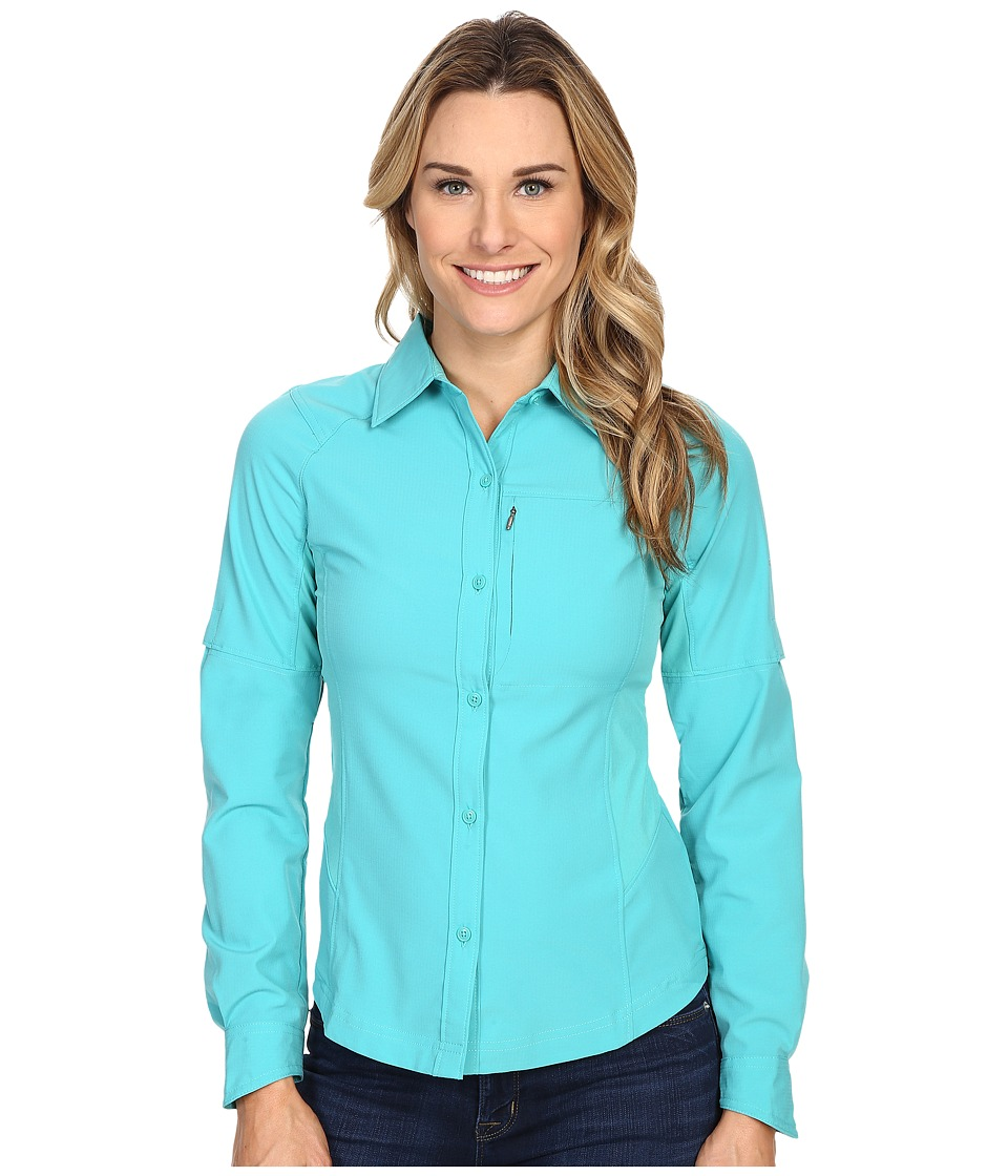 Columbia - Silver Ridge L/S Shirt (Miami) Women's Long Sleeve Button Up