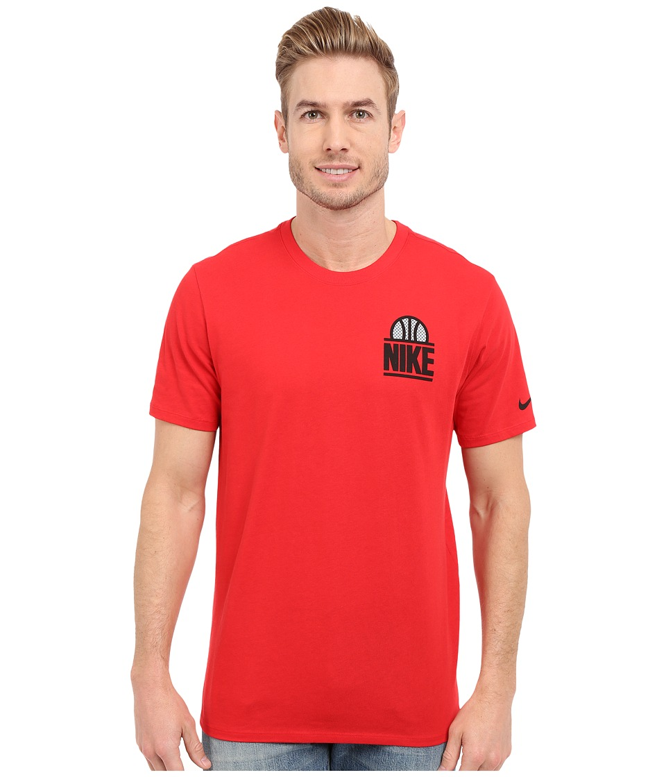 Nike - Classic Block Tee (University Red/University Red/Black) Men's T Shirt