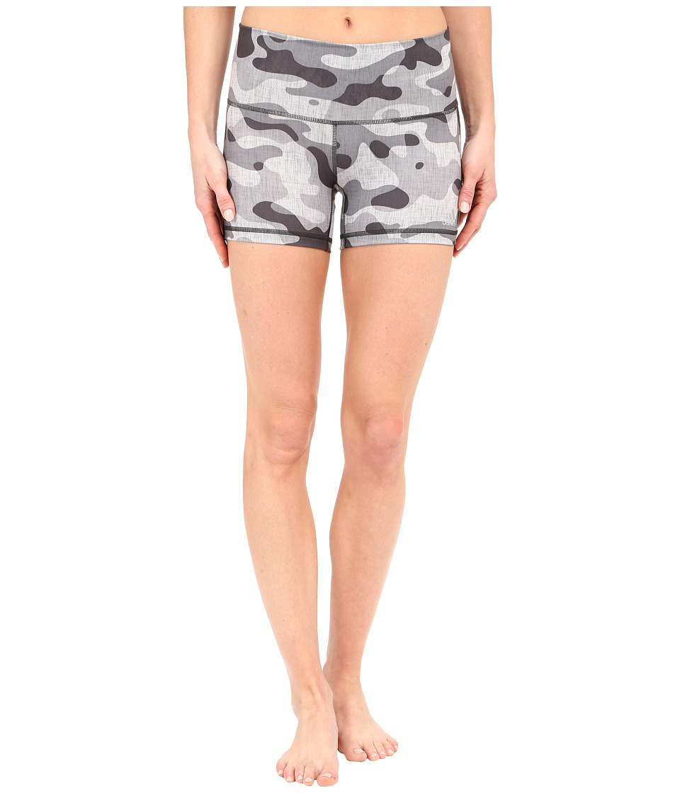 adidas - Performer 4 Short Tights - Camo Print (CH Solid Grey Print/Matte Silver) Women's Shorts