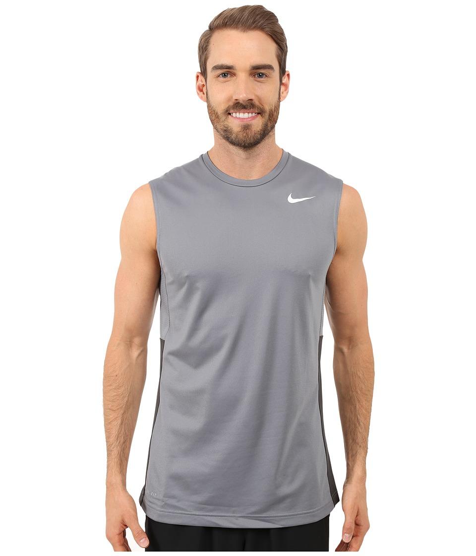 Nike - Crossover Sleeveless (Cool Grey/Cool Grey/Anthracite/White) Men's Sleeveless