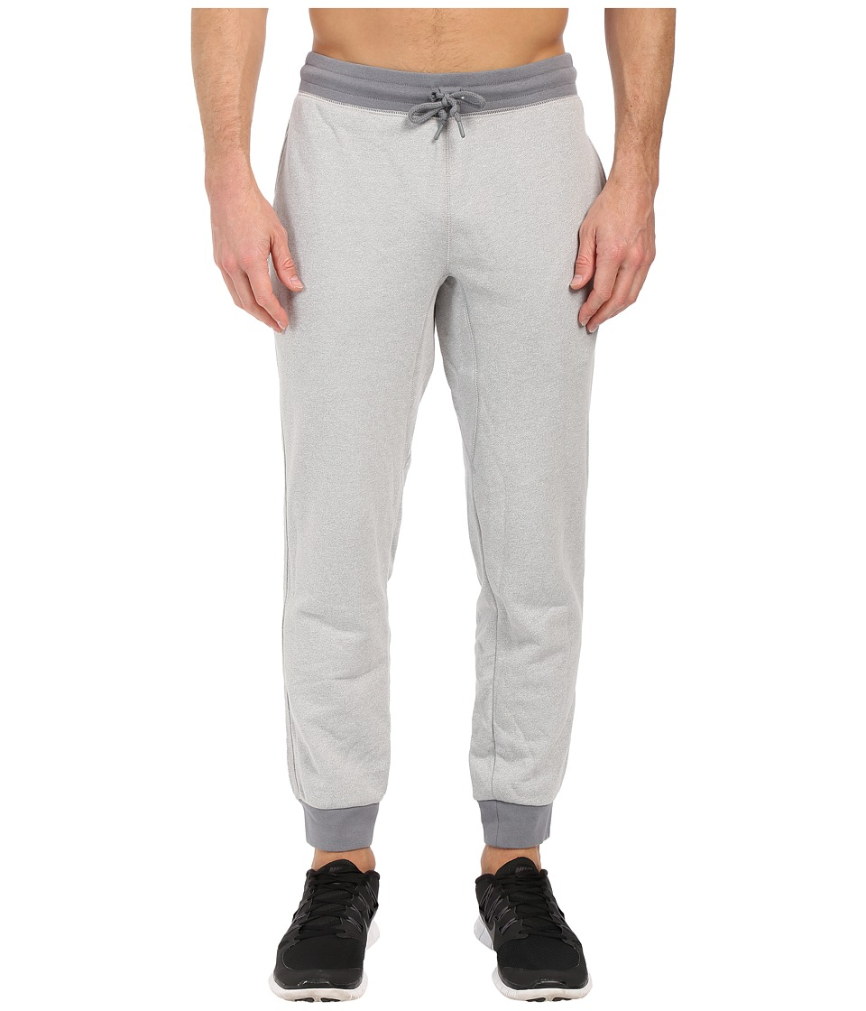 Nike - AW77 Shoebox Cuffed Sweatpant (White/Cool Grey/Heather) Men's Casual Pants