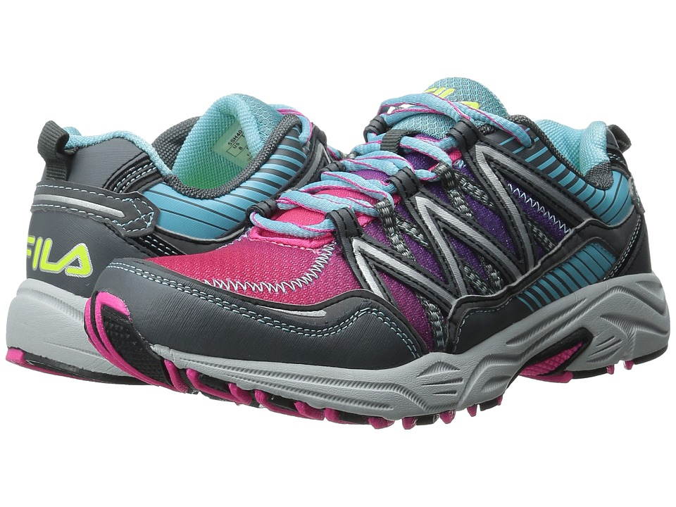 Fila - Headway 6 (Pink Glo/Bluefish/Castlerock) Women's Shoes