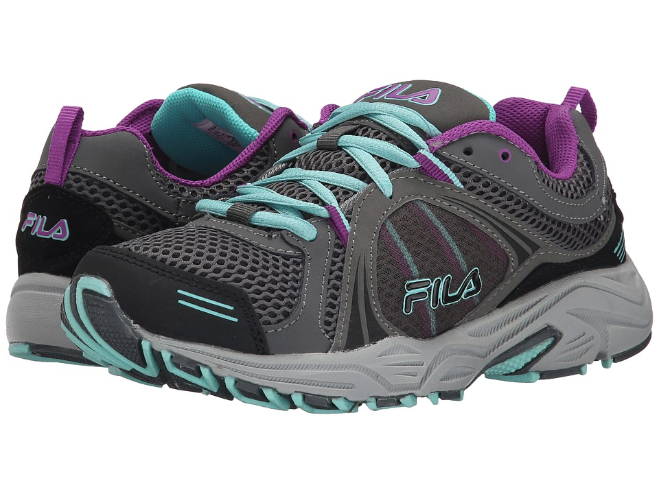 Fila - Vitality 2 (Pewter/Dewberry/Aruba Blue) Women's Shoes