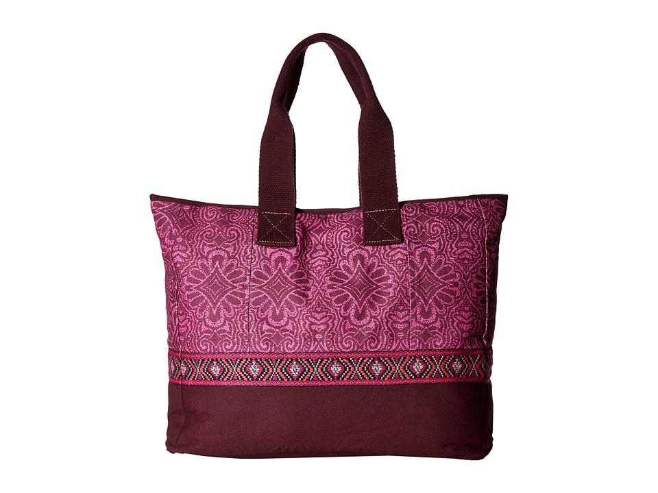 Prana - Jazmina Tote (Rich Fuchsia) Tote Handbags