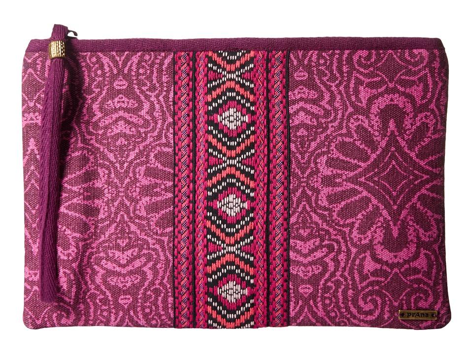 Prana - Jazmina Wristlet (Rich Fuchsia) Wristlet Handbags