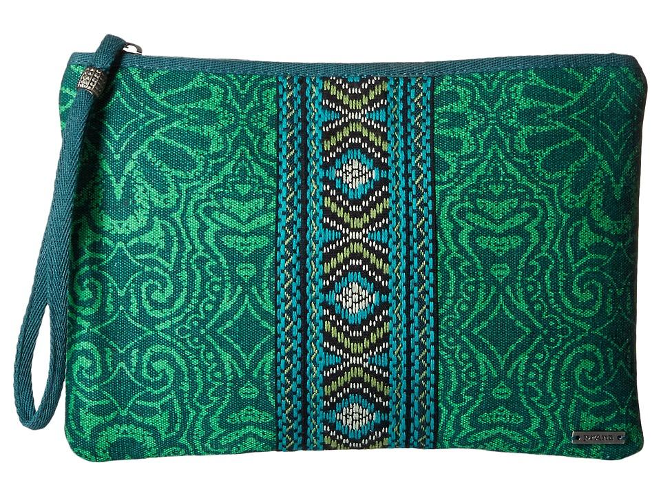 Prana - Jazmina Wristlet (Tidal Teal) Wristlet Handbags