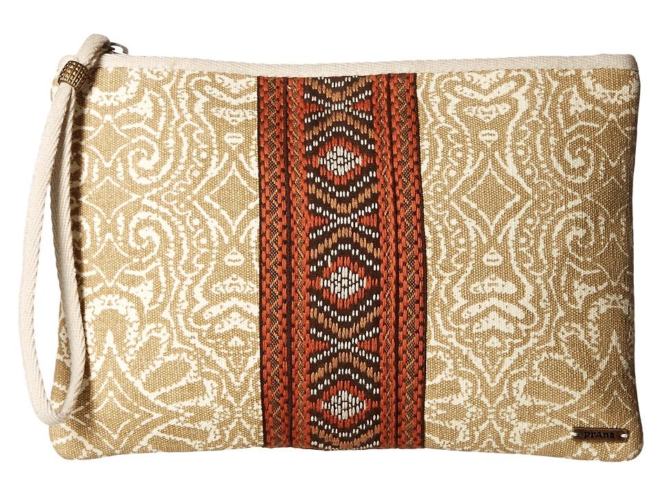 Prana - Jazmina Wristlet (Stone) Wristlet Handbags