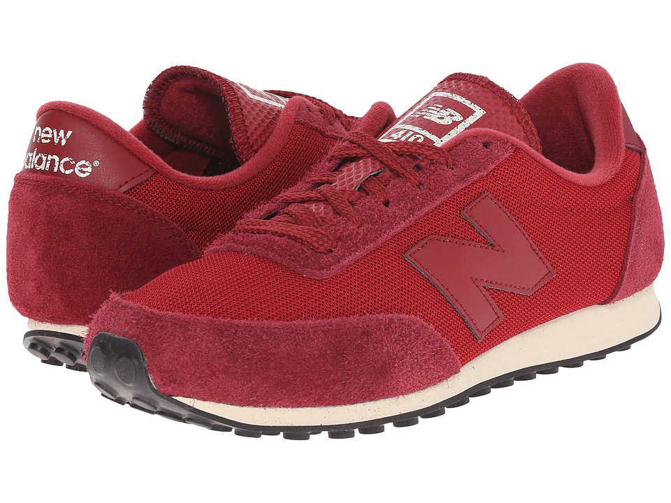 New Balance Classics - U410 (Burgundy) Men's Classic Shoes