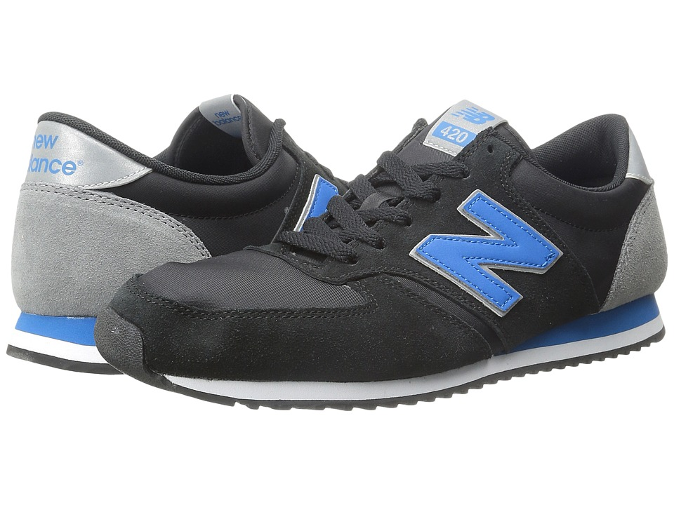 New Balance Classics - U420 (Black) Men's Classic Shoes