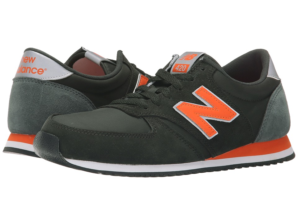 New Balance Classics - U420 (Green) Men's Classic Shoes