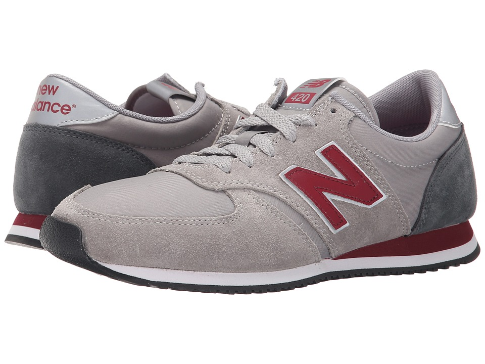 New Balance Classics - U420 (Grey) Men's Classic Shoes