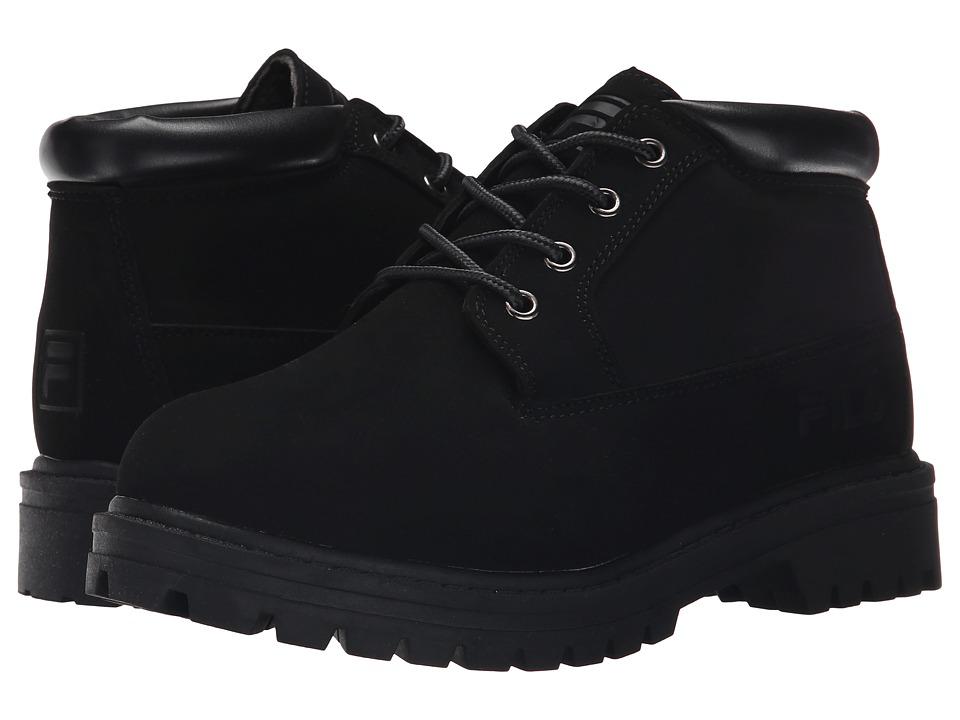 Fila - Luminous (Black/Black/Black) Women's Shoes