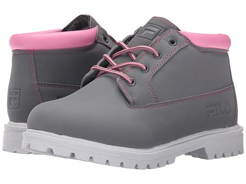 Fila - Luminous (Monument/Cotton Candy/White) Women's Shoes