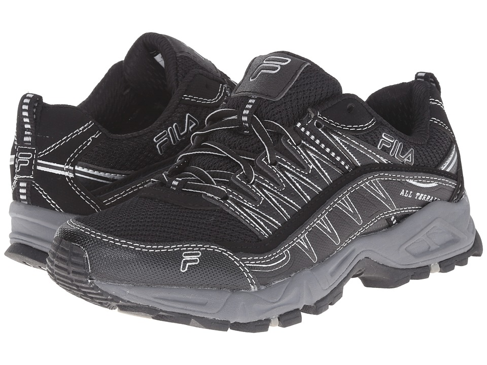 Fila - At Peake (Black/Black/Metallic Silver) Women