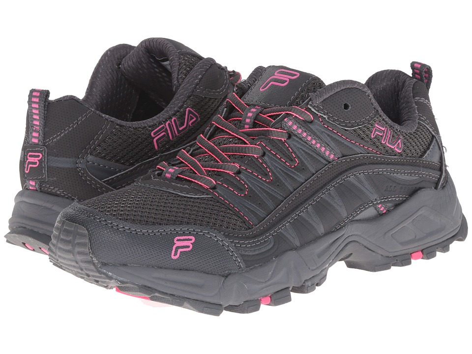 Fila - At Peake (Dark Shade/Castlerock/Knockout Pink) Women