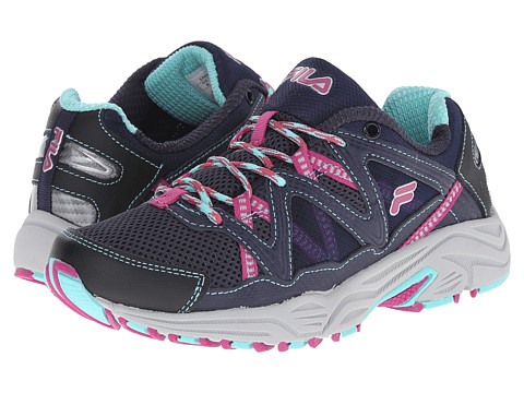 Fila - Vitality V (Fila Navy/Aruba Blue/Fuchsia) Women's Shoes