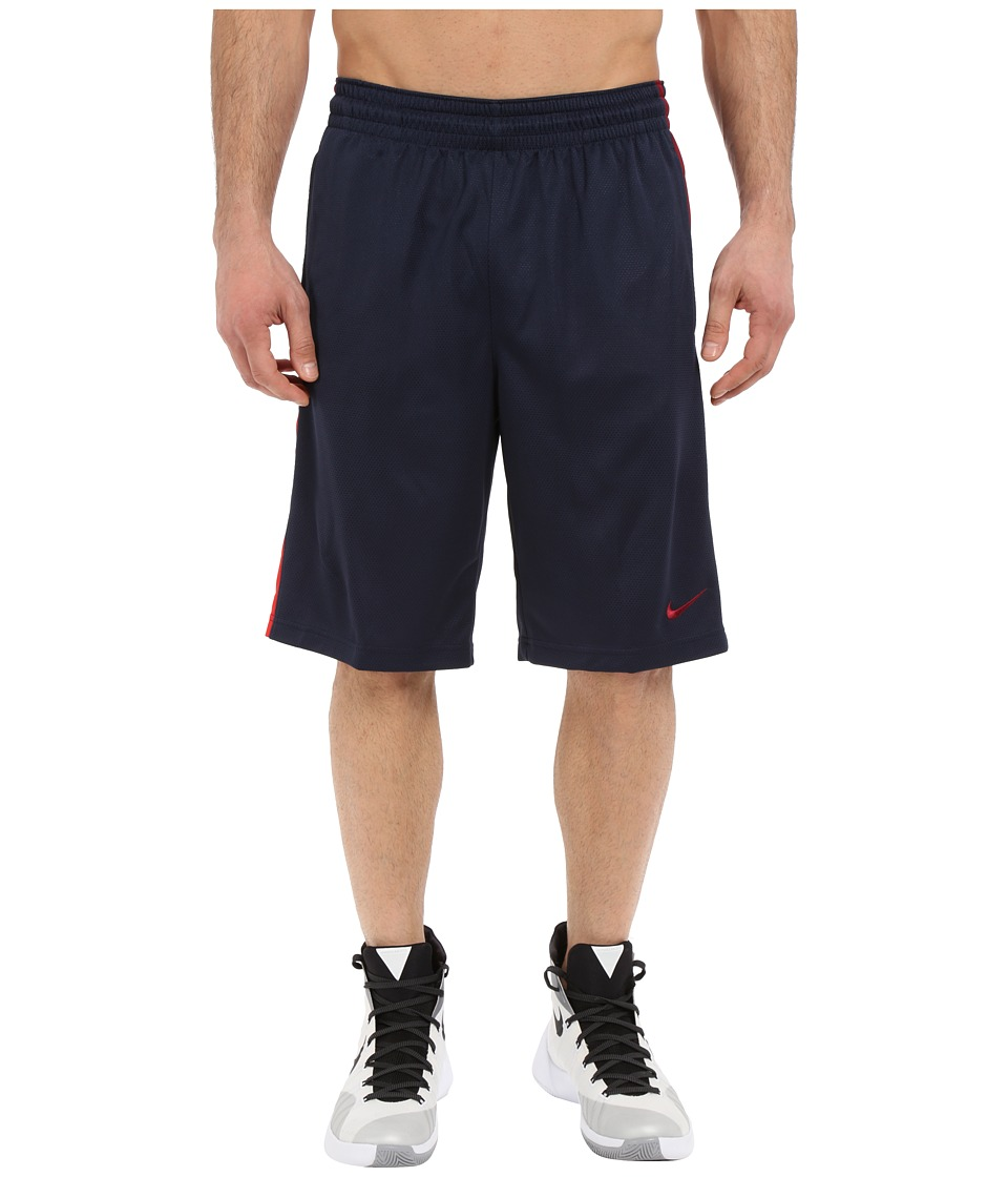 Nike - Status Shorts (Obsidian/Team Red/University Red/Team Red) Men's Shorts