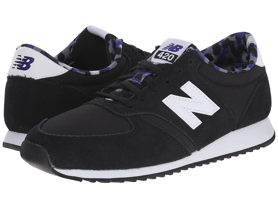 New Balance - WL420 (Black/White) Women's Classic Shoes