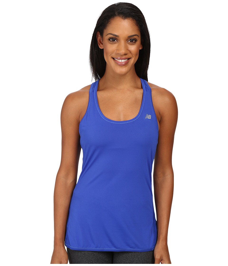 New Balance - Fashion Tank Top (Pacific) Women's Short Sleeve Pullover