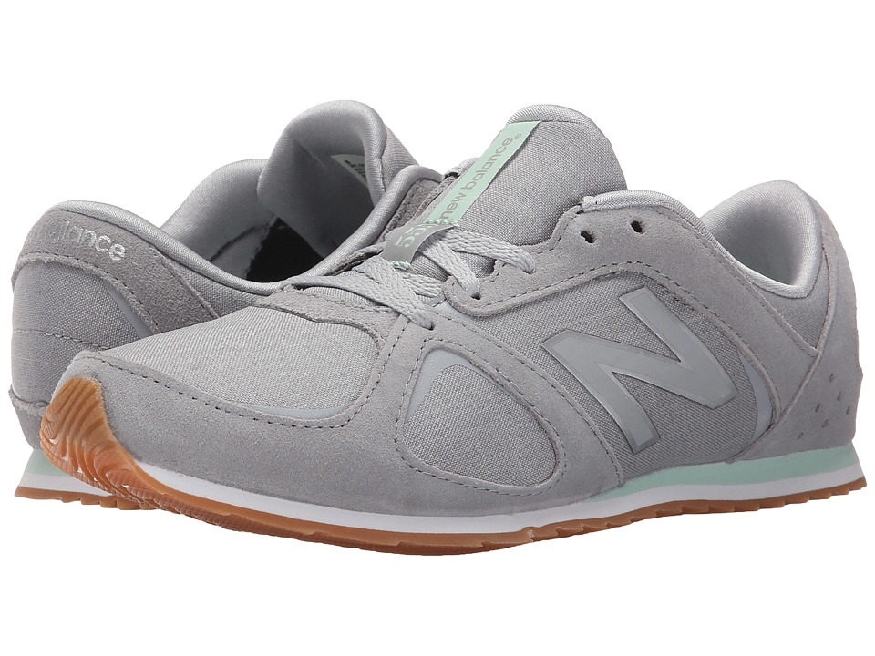 New Balance - WL555 (Silver) Women's Shoes