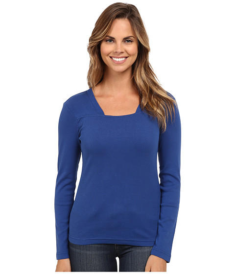 Royal Robbins - Kick Back Modern L/S Crew (Splash) Women