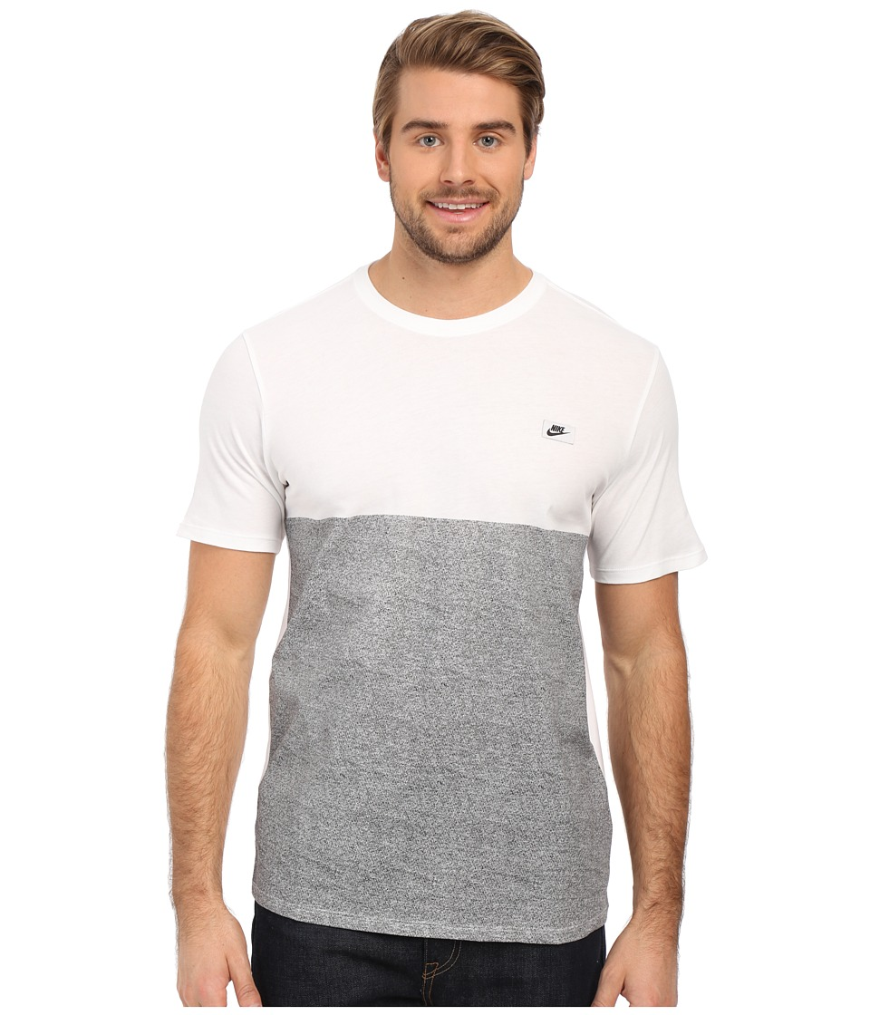 Nike - Shoebox Tee (White/White) Men's T Shirt
