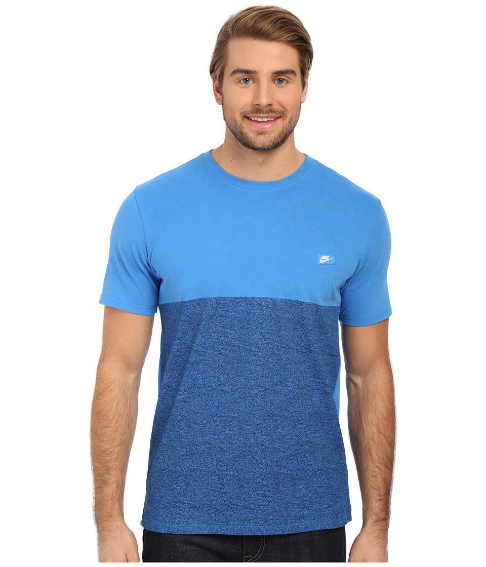 Nike - Shoebox Tee (Light Photo Blue/Light Photo Blue) Men's T Shirt