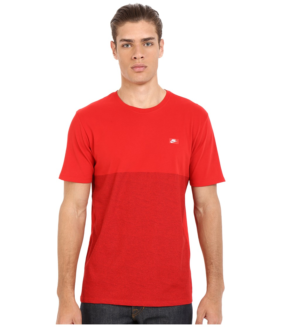 Nike - Shoebox Tee (University Red/University Red) Men's T Shirt
