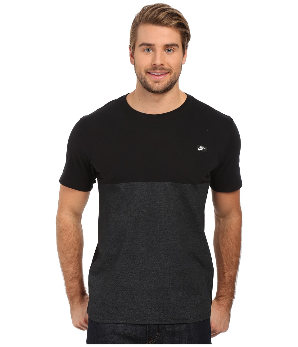 Nike - Shoebox Tee (Black/Black) Men's T Shirt