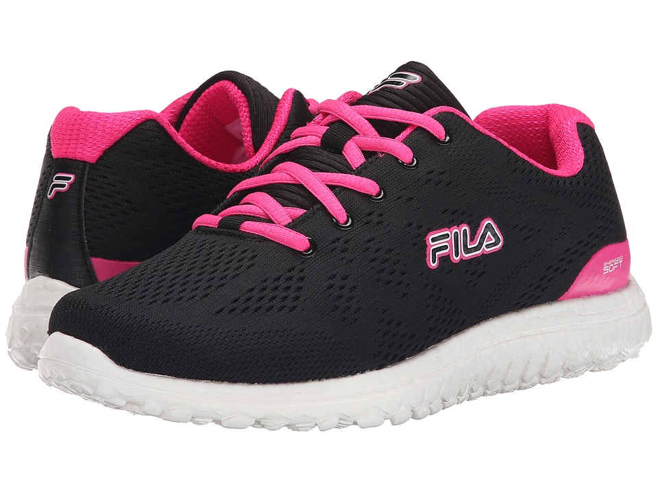 Fila - Namella Energized (Black/Pink Glo/White) Women