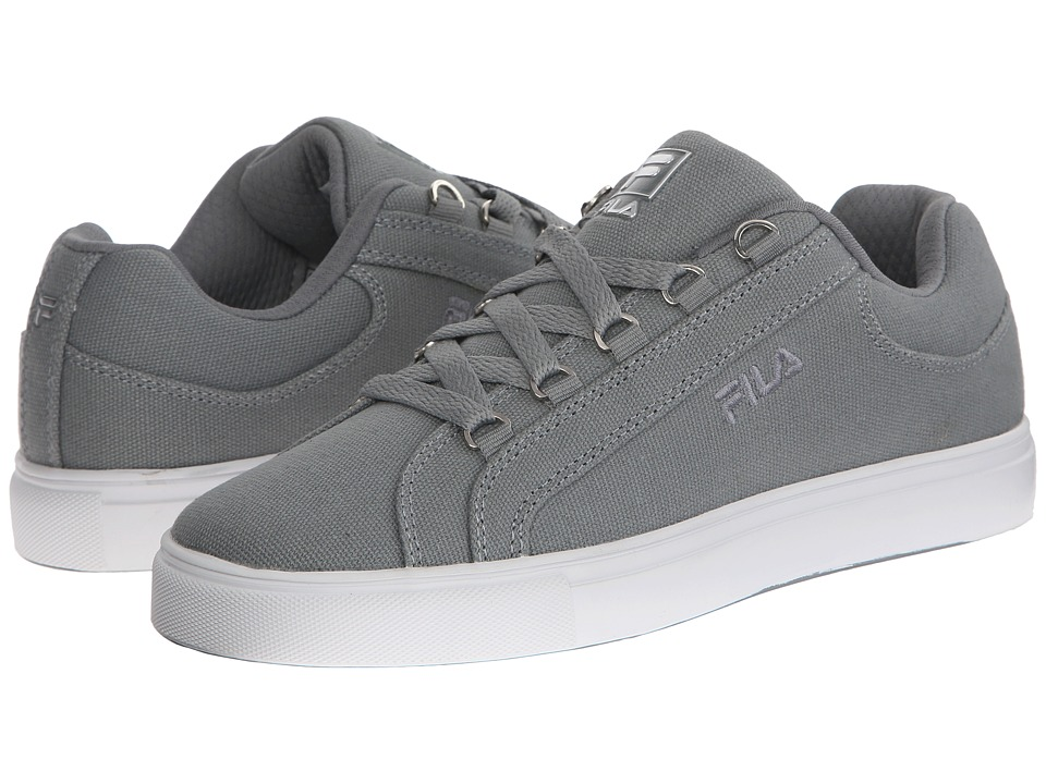 Fila - Oxidize Low (Monument/White/Metallic Silver) Women's Shoes