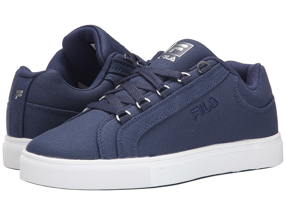 Fila Oxidize Low (Fila Navy/White/Metallic Silver) Women
