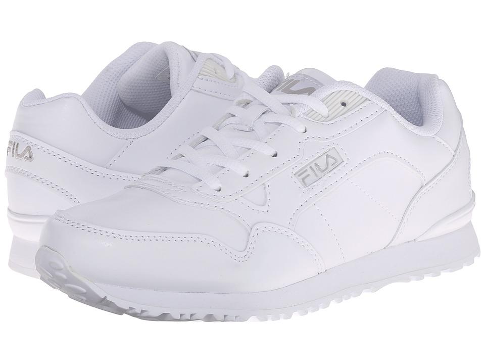 Fila Cress (White/White/Metallic Silver) Women
