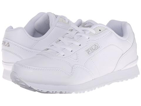 Fila - Cress (White/White/Metallic Silver) Women