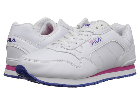 Fila - Cress (White/Royal Blue/Pink Glo) Women's Shoes