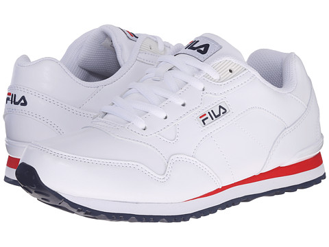 Fila - Cress (White/Fila Navy/Fila Red) Women's Shoes
