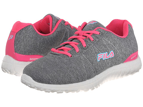 Fila - Namella Energized (Monument/Knockout Pink/White) Women