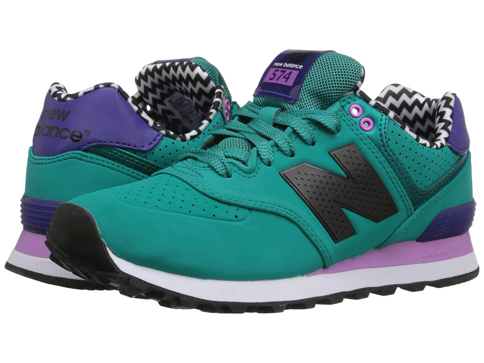 New Balance Classics - WL574 (Galapagos) Women's Lace up casual Shoes