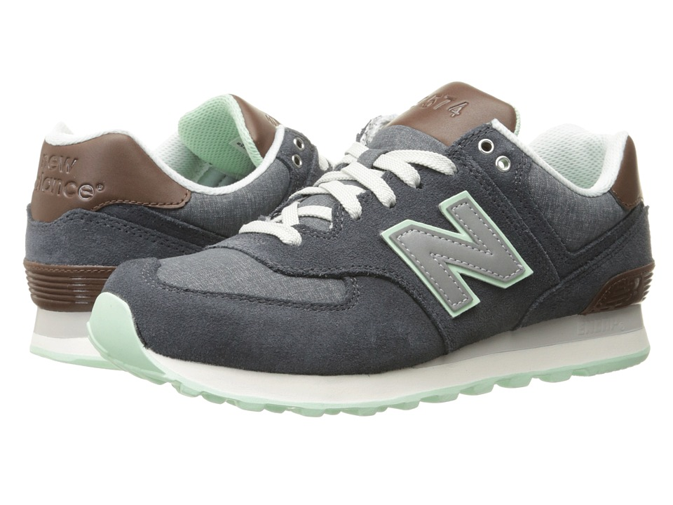 New Balance Classics - WL574 (Dark Grey 1) Women's Lace up casual Shoes