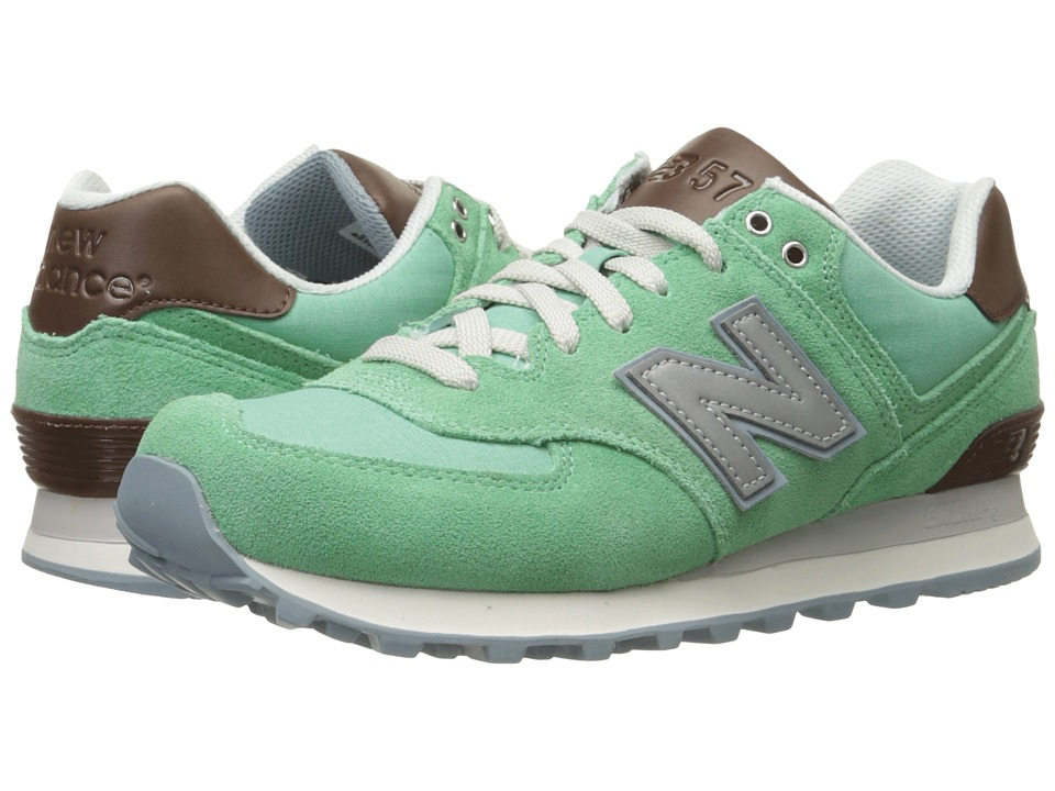 New Balance Classics - WL574 (Mint) Women's Lace up casual Shoes