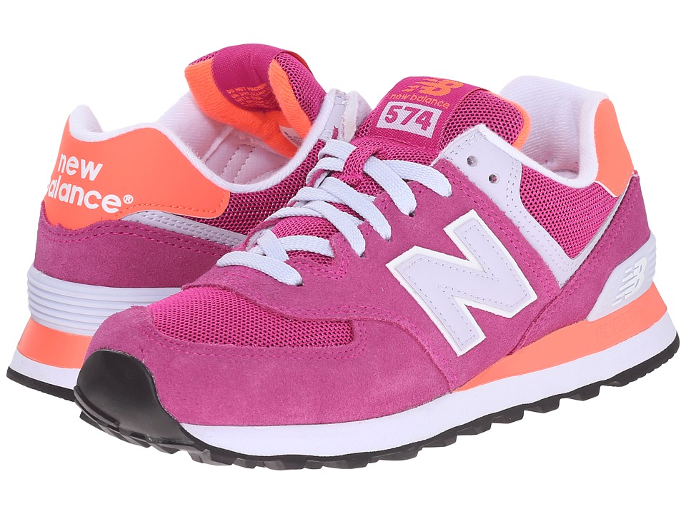 New Balance Classics - WL574 (Azalea) Women's Lace up casual Shoes