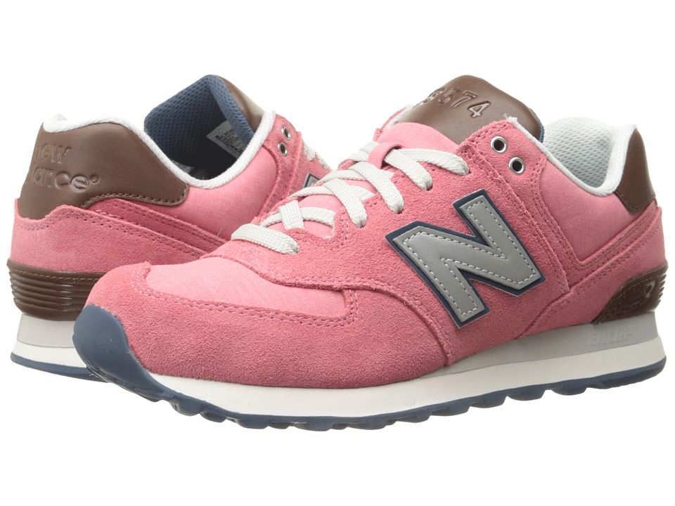 New Balance Classics - WL574 (Mineral Pink) Women's Lace up casual Shoes