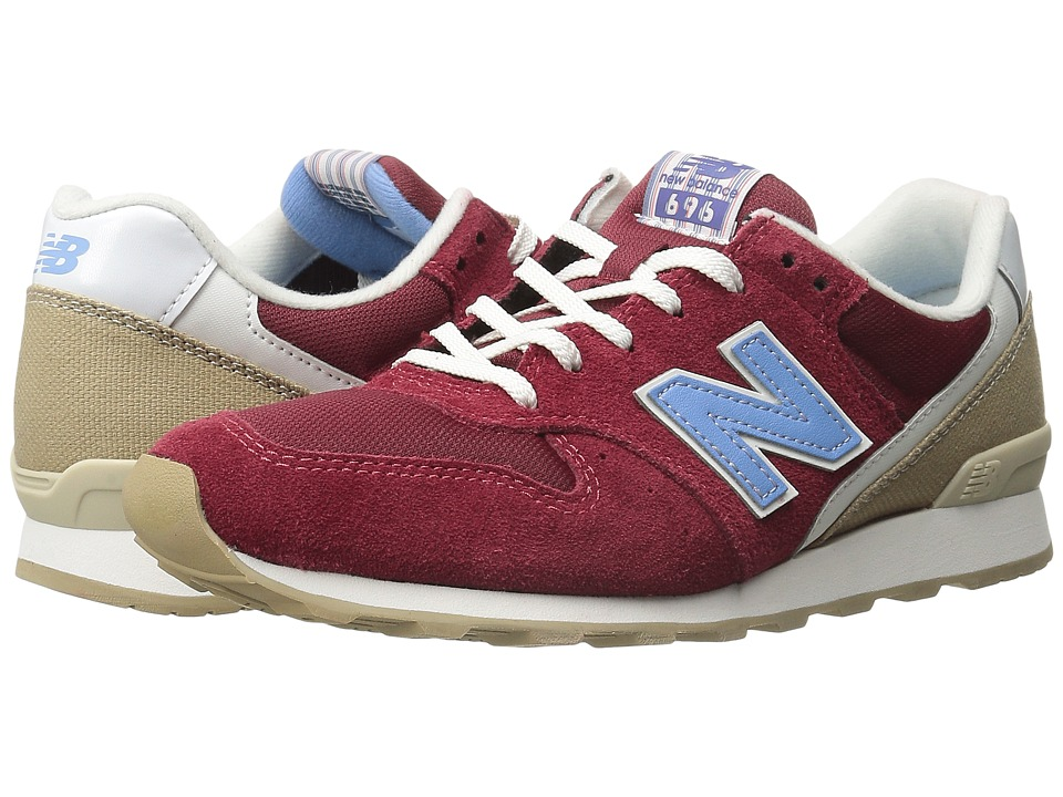 New Balance Classics - WL696 (Red/Blue) Women's Classic Shoes