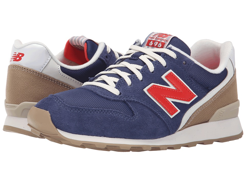 New Balance Classics - WL696 (Navy/Red 1) Women's Classic Shoes