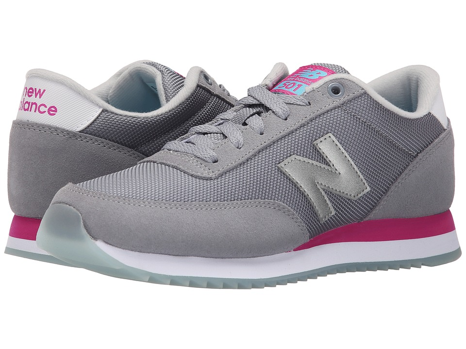New Balance Classics - WZ501 (Grey/Pink) Women's Shoes