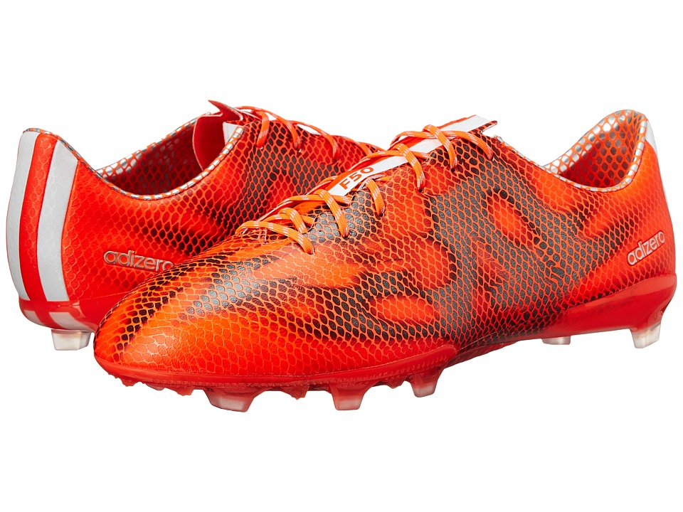 adidas - F50 Adizero FG (Solar Red/White/Black) Men