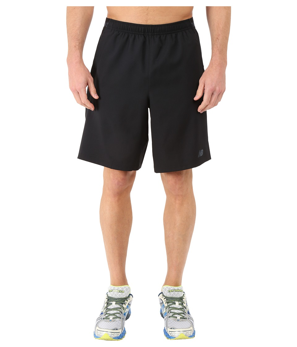 New Balance - 9 Performance Shorts (Black) Men's Shorts
