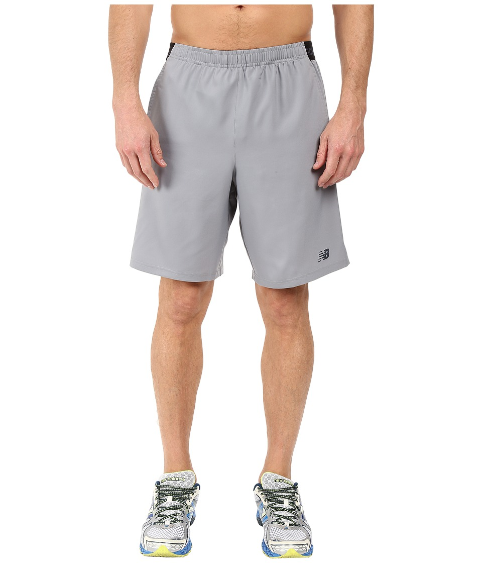 New Balance - 9 Performance Shorts (Silver Mink) Men's Shorts