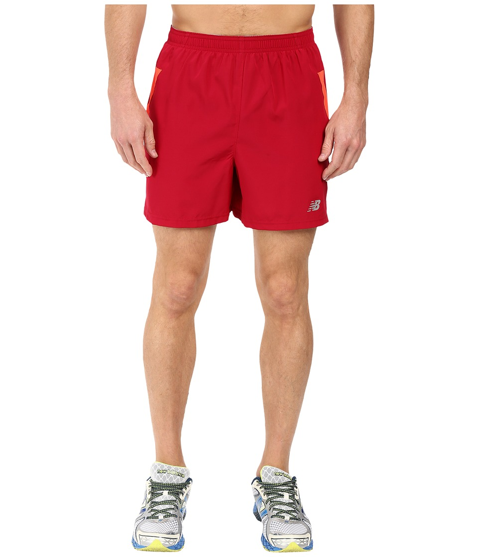 New Balance - Woven Run Shorts (Horizon) Men's Shorts