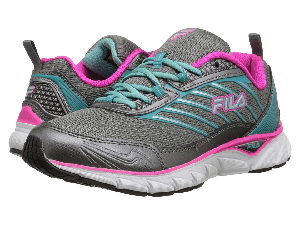 Fila - Forward (Dark Silver/Baltic/Pink Glo) Women's Running Shoes
